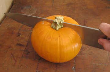 split pumpkin