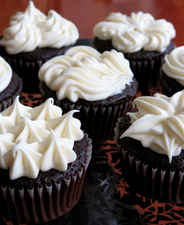 Not Your Average Devil's Food Cupcakes — Zoe Bakes