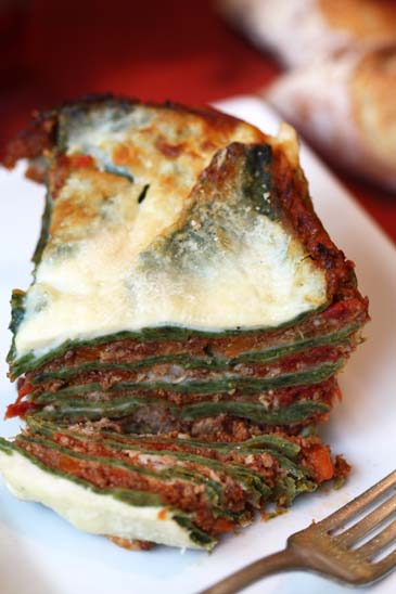 Spinach Pasta Lasagna Recipe Zoebakes Eat Dessert First