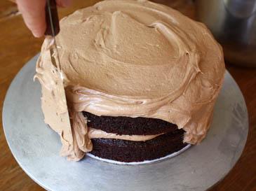 A Red Velvet Birthday Cake basket weave 101 Zoe Bakes
