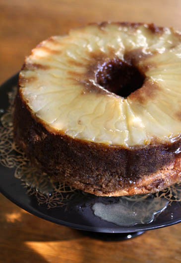 recipe: pear cake with caramel sauce [26]