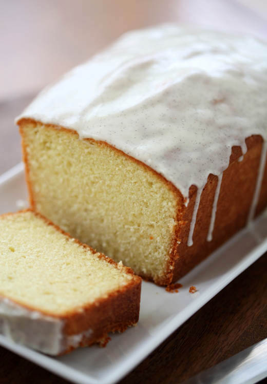 Vanilla bean butter cake recipe