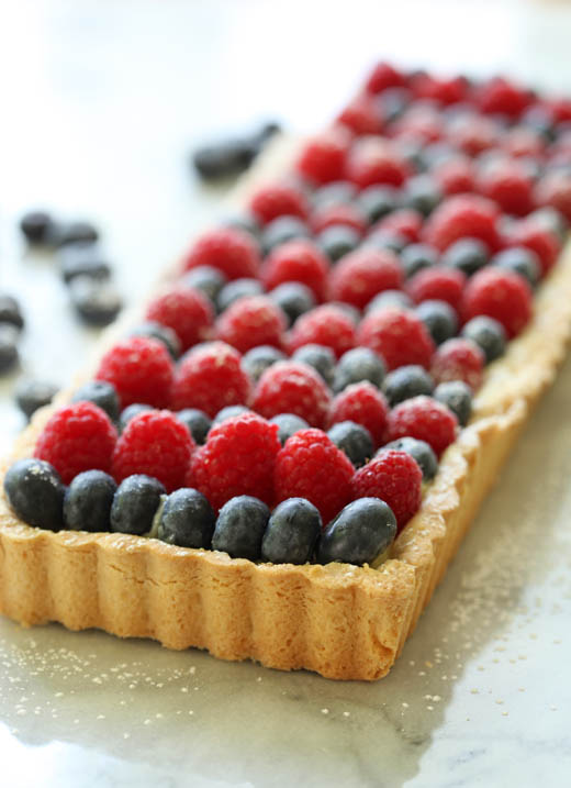 4th of July Tart | ZoeBakes