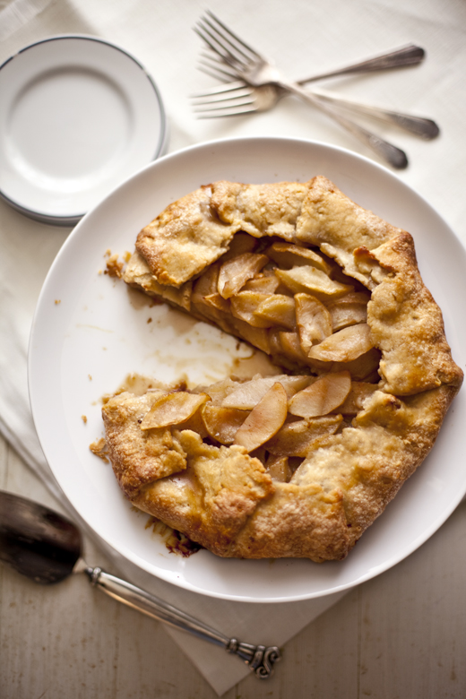 Apple Galette – Pie without a Dish – Zoe Bakes