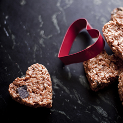 Thumbnail image for Everything-but-the-Kitchen-Sink Rice Treats for Valentine's Day