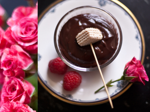 Chocolate Fondue (No Special Pot Required) – Zoe Bakes