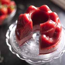 Thumbnail image for Homemade Fresh Strawberry Jello for Mother's Day