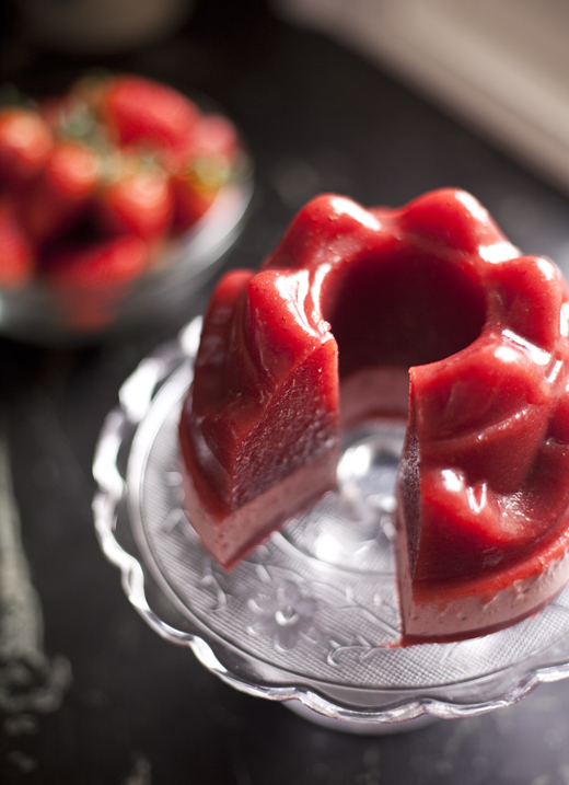 strawberry jello