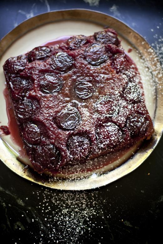 Black Velvet Apricot Cake | ZoeBakes