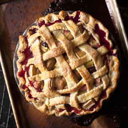 Thumbnail image for Rhubarb Pie – The Joy of Watching my Son Bake