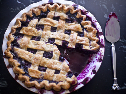blueberry pie | ZoeBakes