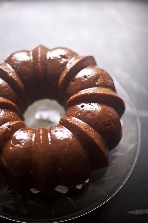 Honey Whiskey Apple Cake | ZoeBakes 05