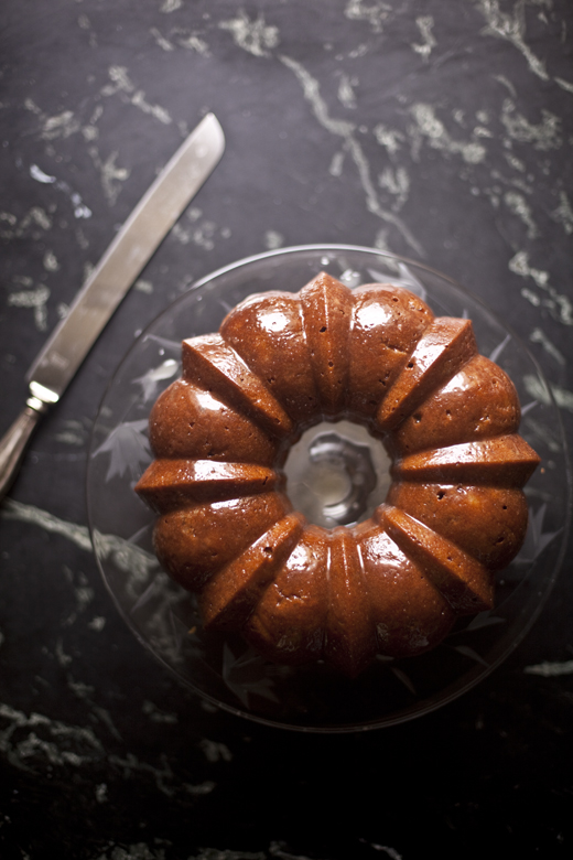 Honey Whiskey Apple Cake | ZoeBakes 06