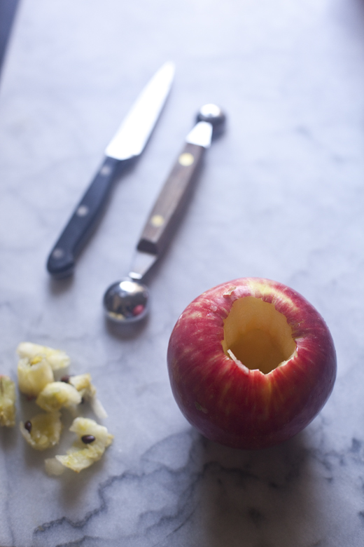 Paleo Stuffed Apple | ZoeBakes 01