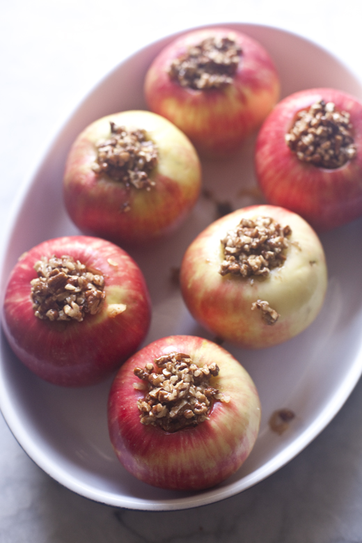 Paleo Stuffed Apple | ZoeBakes 06