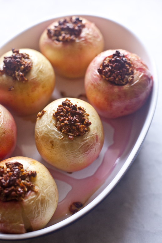 Paleo Stuffed Apple | ZoeBakes 08