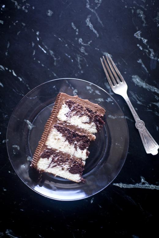 marble cake | ZoeBakes 06