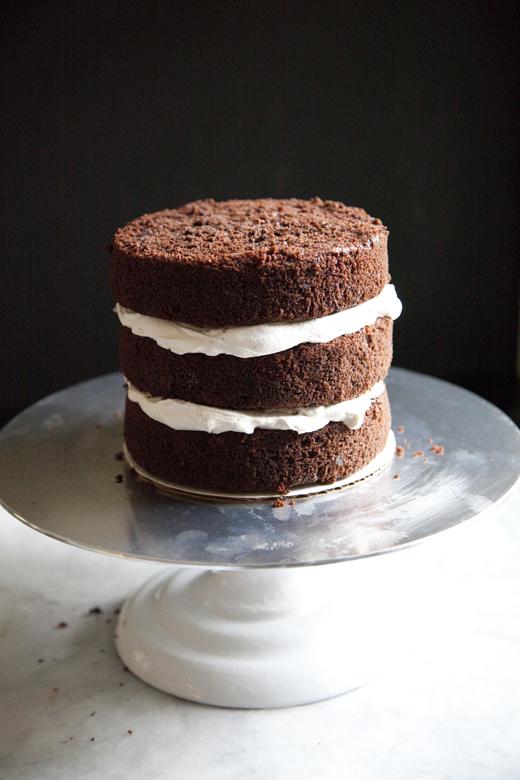 Chocolate Cherry Cake | zoebakes 06