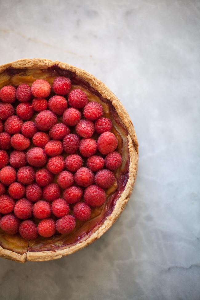 Raspberry Custard Tart | Zoe Francois(4 of 6)