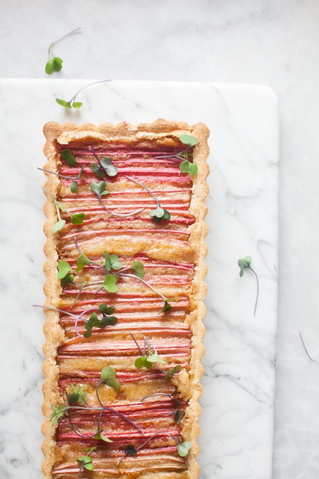 Rhubarb Tart(13 of 8)